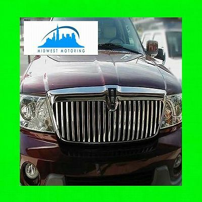 (2003-2006 LINCOLN NAVIGATOR CHROME TRIM FOR GRILLE GRILL 2004 2005 03 04 05 06)