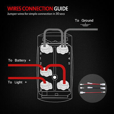 Illuminated Switch Wire Wiring Diagramwith Blue on