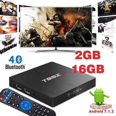 Superview T95Z Max Android 7.1 2GB 16GB Quad Core TV HD 2.4G 5G Dual WIFI