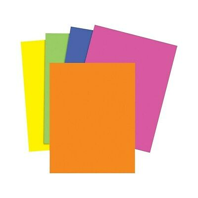 Staples Brights 24 Lb. Colored Paper Neon Assorted 500ream 733097