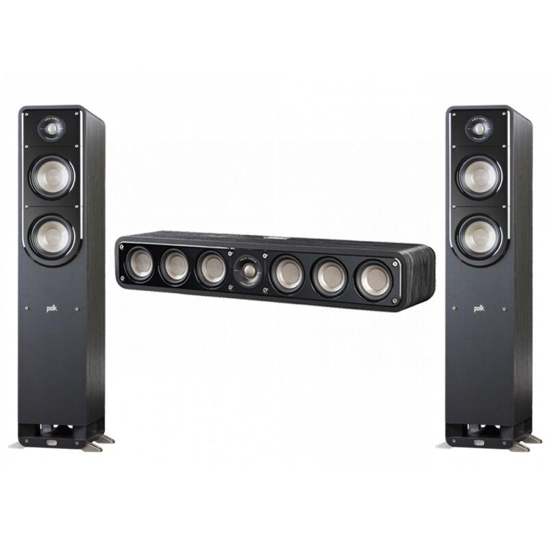 Polk Audio Signature 3.0 System With 2 S50 Tower Speaker, 1 Polk S35 Center Spea