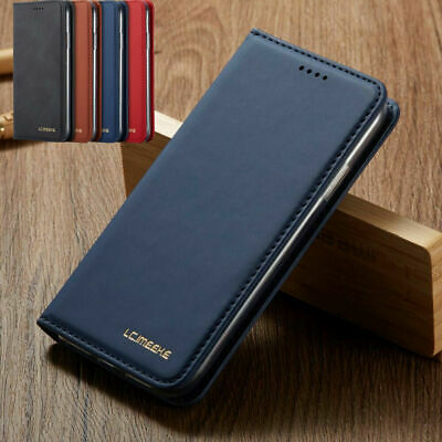 Premium Slim Leather Case Flip Wallet Cover For iPhone 6 7 8 XR 11 Pro Max XS