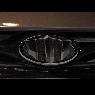 New Brenthon Black Front+Rear Emblem For Hyundai Santa Fe Sports 2013~2016