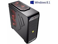 ULTRA FAST 4.3GHz Quad Core AMD Desktop Gaming PC Computer