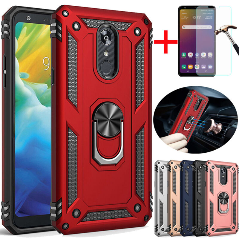 For LG Stylo 5 Plus/6/5x Shockproof Armor Stand Hard Case Co