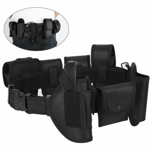 10-in-1 Police Security Guard Modular Enforcement Equipment Duty Belt Tactical