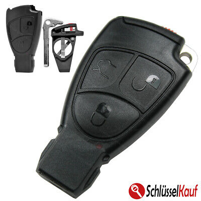 Auto Schlüssel 3T Batteriefach  passend für Mercedes  W202 W203 W208 W210 W211