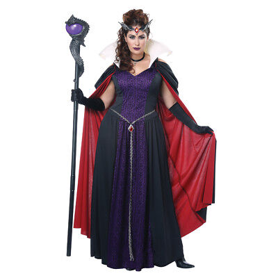 Womens Plus Size Evil Storybook Queen Disney Costume - Disney Costumes Plus Size