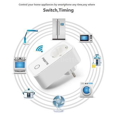 10A WiFi Smart Socket EU Plug Phone RemoteControl Amazon Alexa&Google Home U9B6