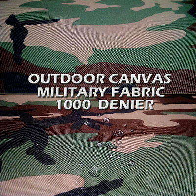 "CANVAS FABRIC CORDURA 60"" WATER REPELLENT COATED NYLON DWR MILITARY FABRIC"