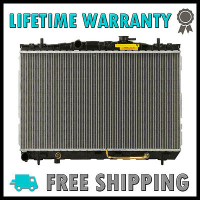 New Radiator For Hyundai Elantra 01-06 Tiburon 03-08 L4 V6 Lifetime Warranty