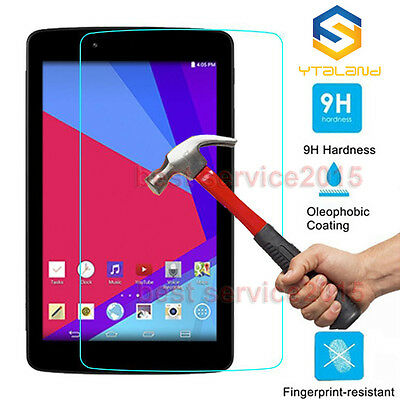9H+ Premium Tempered Glass Screen Protector Film For LG G Pad Tablet