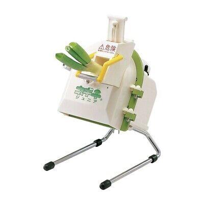 Chiba Kogyosho Eléctrico Verde Cebolla Cortador Menor Blanco