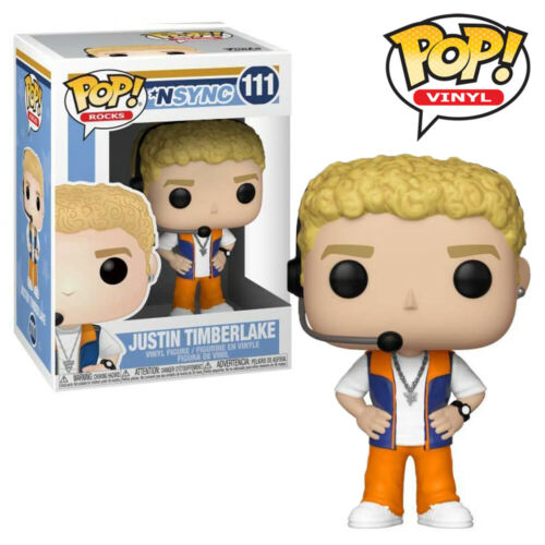 Justin Timberlake NSYNC Official Music Funko Pop Vinyl Figure Collectables