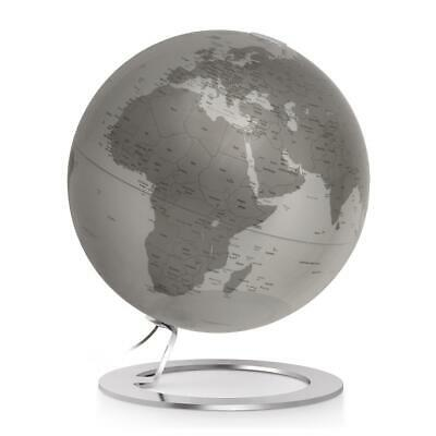 iglobe 10 in. desktop globe in silver