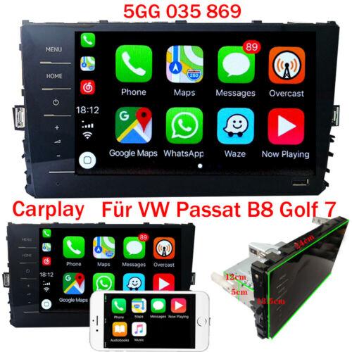 "8"" RCD330 Autoradio Carplay Mirrorlink BT RVC USB Für MQB VW PASSAT B8 GOLF 7"