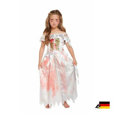 MÄDCHEN ZOMBIE Prinzessin Kostüm Halloween Fasching Karneval Verkleidung party
