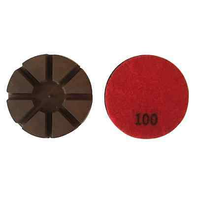 3 100 Grit Metal Bond Diamond Polishing Pad For Concrete Floor 3pcs