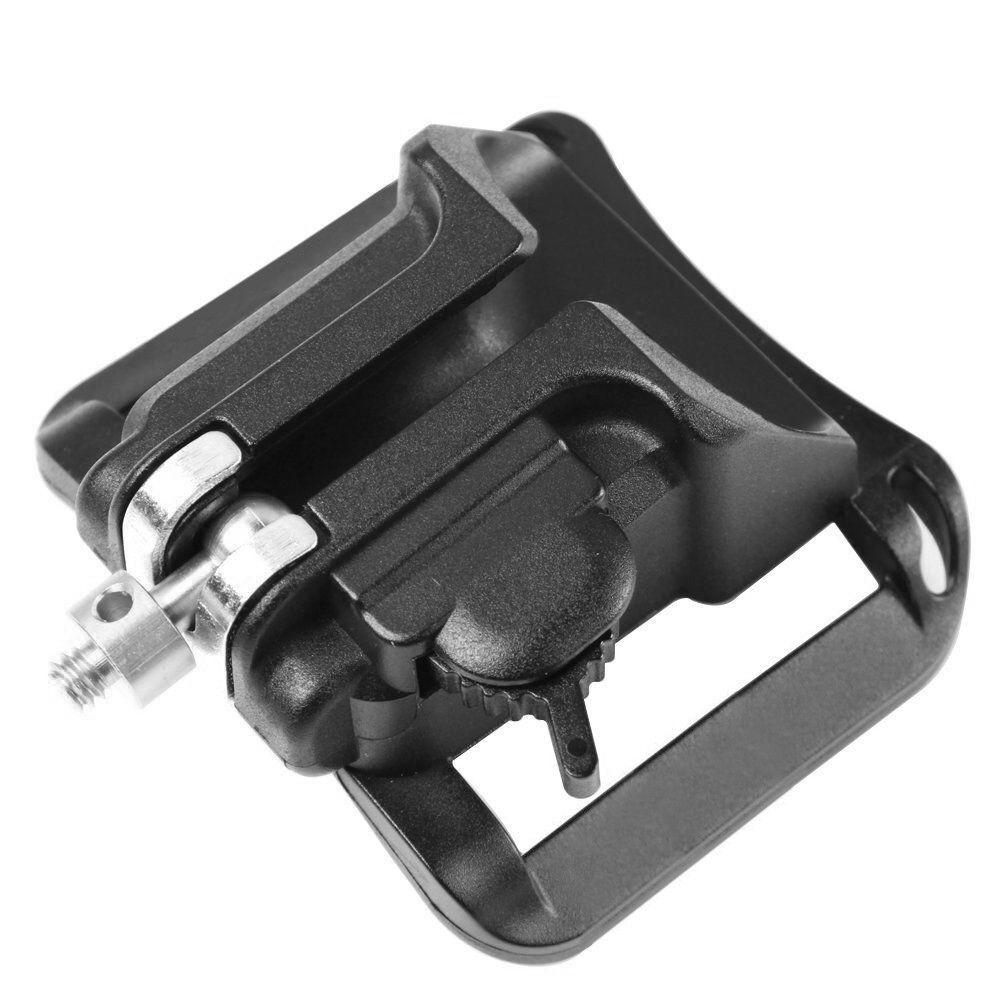Camera Hanger Belt Clip Holster Quick Strap Buckle Button Fa