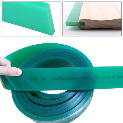 70 Duro Durometer Silk Screen Printing Squeegee Rubber Blade Roll 71
