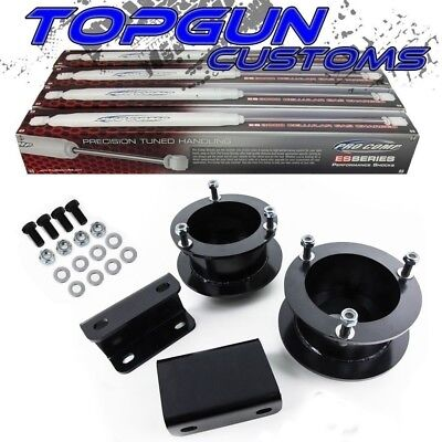 "For 03-12 Dodge Ram 2500 3500 3.5"" Inch Front Lift Kit w/ Shocks + Sway Bar Drop"