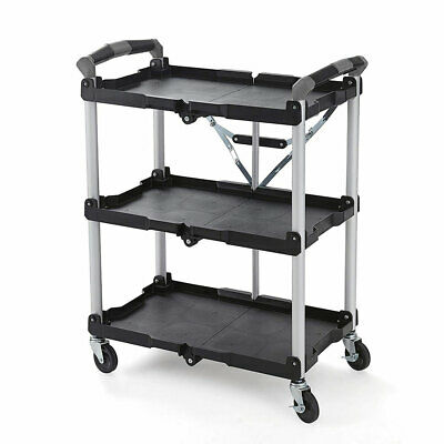Olympia Tools Pack N Roll Collapsible Storage Service Cart With Wheels Used