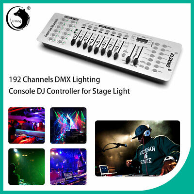 DMX512 192Channel Operator Console Controller For Stage Lighting Disco DJ Party  ()