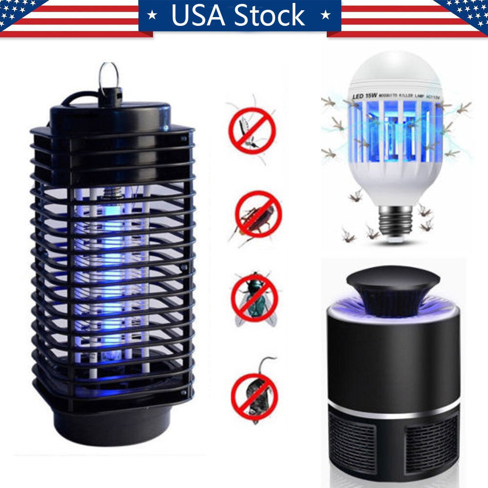 Electric Bug Zapper Fly & Mosquito Killer, Insect Bug Trap L