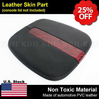 2007-2014 Cadillac Escalade Leather Center Console Lid Cover Armrest Compartment