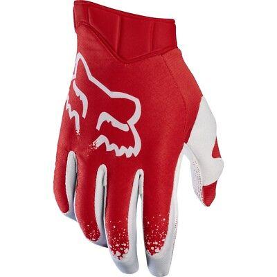 Fox Airline (Fox Airline Moth MX Handschuhe rot weiß)