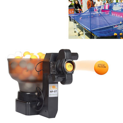 36W HP-07 Ping Pong/Table Tennis Robots Automatic Ball Machine Fit Training