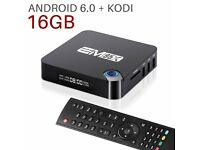New EM95X android tv box fully loaded movies sport kids tv all free