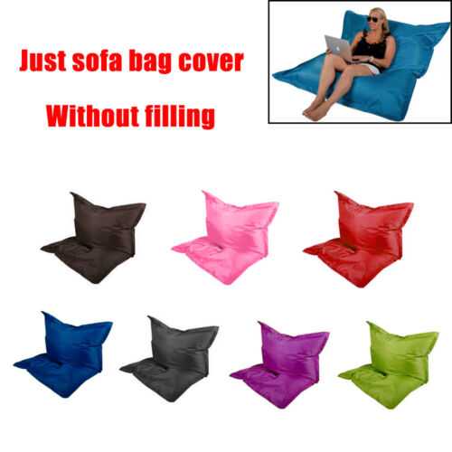New Large Bean Bag Chairs Couch Sofa Cover Indoor Lazy Loung
