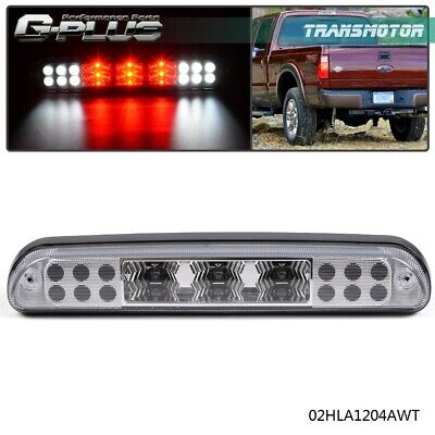 For Fort F250 F350 F450 F550 99-15 Clear Rear 3rd Brake Cargo Led Tail -