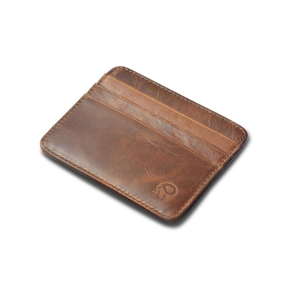 Men's  Minimalist Front Pocket Wallet,Slim&Thin&RFID Credit