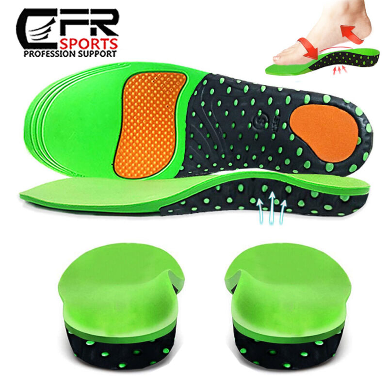 Orthotic Inserts Plantar Fasciitis Arch Support Insoles for