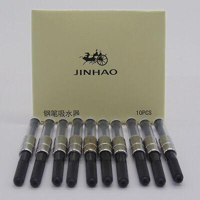 JINHAO 10PCS fountain Pen Ink Converter Ink Reservoir