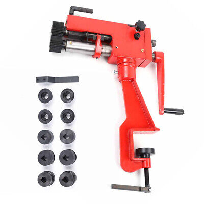 7 Sheet Metal Bead Roller Bending Bender Rolling Machine W6dies Red Device Us