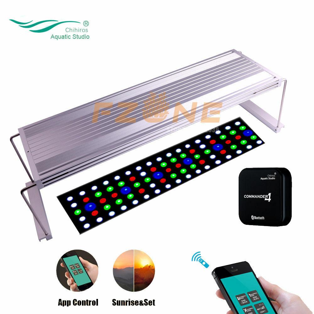 Chihiros WRGB Serials Full Spectrum Dimable APP Aquarium Plant LED Lights