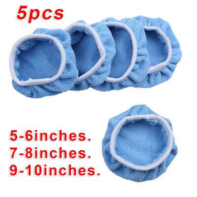 5 Mikrofaser Polierpad Wachs Applikator Schaum Schwamm Reinigung Pflege
