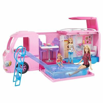 Barbie DreamCamper Camper Van With Pool Playset