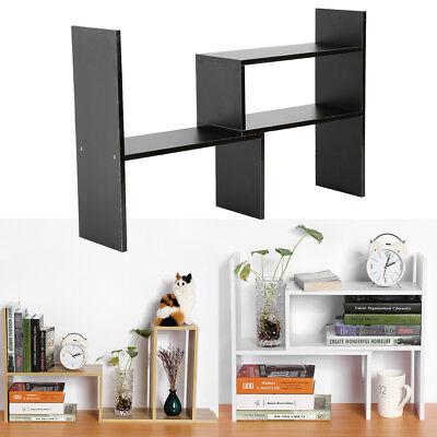 Desktop Storage Rack Home Office Desk Storage Organizer Bookshelf Shelf - Diy Desk Organizer