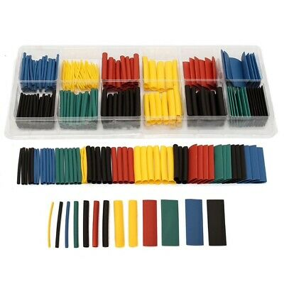 280pcs Heat Shrink Tubing Tube 21 Sleeve Wrap Wire Cable 8 Size Assortment Kit