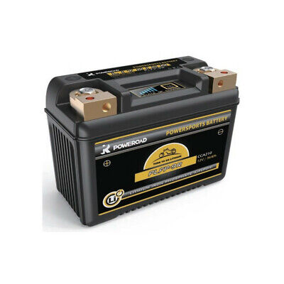 Batería de litio para moto POWEROAD PLFP-9R 12V 36Wh 210A