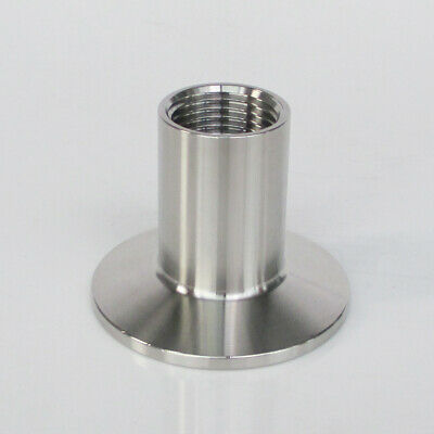 1.5 Tri Clamp X 12 Npt Female Adapter 304 Stainless Steel