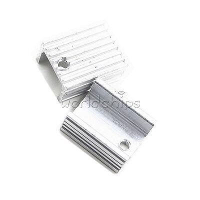 10pcs Heat Sink 21x15x10mm Aluminum Heat Sink Needle To-220 Mosfet Transistors