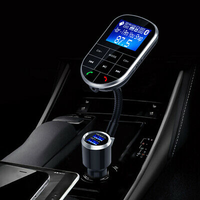 Wireless Transmitter Car Wireless Bluetooth Radio Adapter V4.2 With 2 Ports