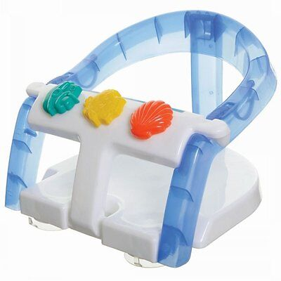 Dreambaby Fold Away Bath Seat Bath Support For Baby - White / Blue