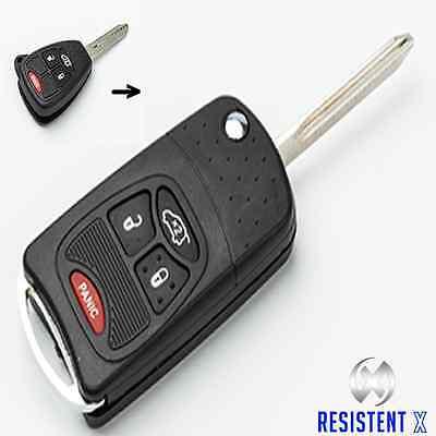 CY2XSP Klappschlüssel Gehäuse+Video f 4 Tasten Jeep/Chrysler/Dodge Fernbedienung gebraucht kaufen  Möhnesee