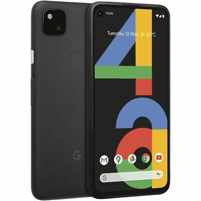 Android Phone - Google Pixel 4a Unlocked Smartphone 128GB Just Black